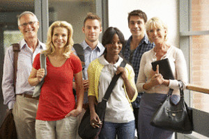 Average age of graduates varies across many age groups